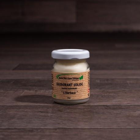 Déodorant solide « L'Herbacé » - 65gr