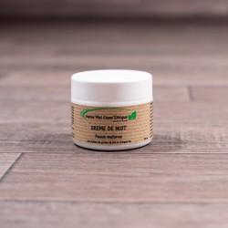 Crème de nuit - Peaux matures - 50ml