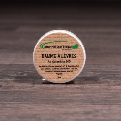 Baume à lèvres au calendula - Pot 15ml
