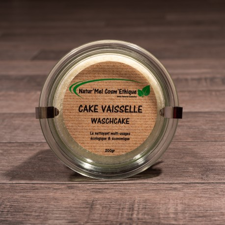 Cake vaisselle - Pot en verre