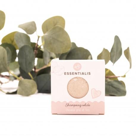 Essentialis - Shampoing pour cheveux gras et fin - 65 g